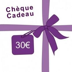 Chèque cadeau : 30€